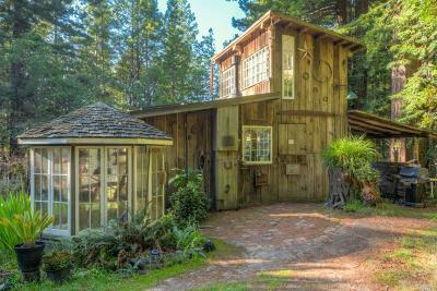 Gualala CA Single Family Home For Sale: $479,900