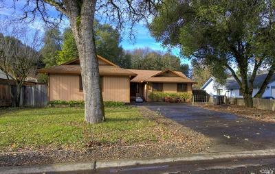 Kelseyville Single Family Home For Sale: 5598 Oak Hills Lane