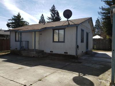 Willits Single Family Home For Sale: 3 Page Court