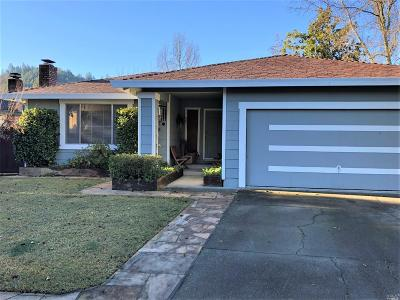 Calistoga Single Family Home For Sale: 2425 Janis Way