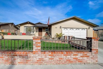 Napa Single Family Home For Sale: 1718 Sequoia Street