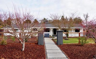 Napa Single Family Home For Sale: 1058 Ross Circle