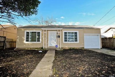 Vallejo Single Family Home For Sale: 173 Hogan Avenue