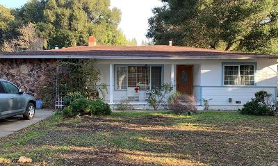 Novato Single Family Home For Sale: 1826 Virginia Avenue
