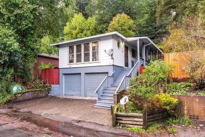 Guerneville CA Single Family Home For Sale: $415,000
