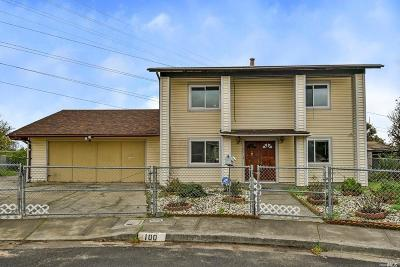 Vallejo Single Family Home For Sale: 100 Colt Court