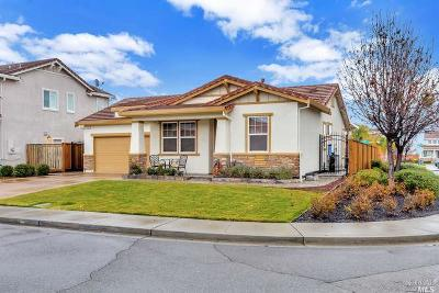 Vacaville Single Family Home For Sale: 654 Spillman Circle