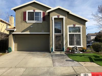 Vallejo Single Family Home For Sale: 160 Wellington Place
