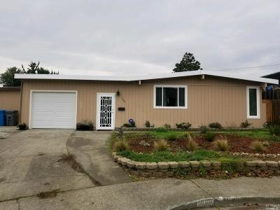 Vallejo Single Family Home For Sale: 109 Sycamore Court
