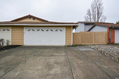 Fairfield CA Single Family Home For Sale: $364,900