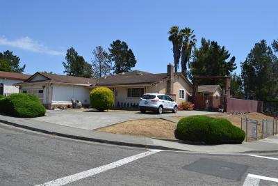 Solano County Single Family Home For Sale: 100 Park View Terrace