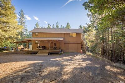 Willits Single Family Home For Sale: 25996 String Creek Road