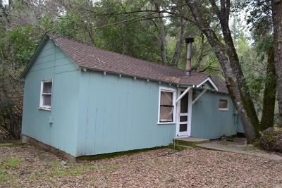 Redwood Valley CA Single Family Home For Sale: $230,000