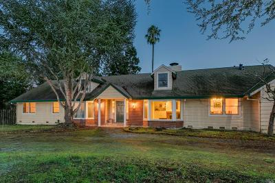 Novato Single Family Home For Sale