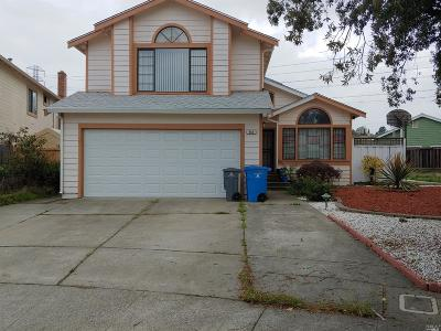 Vallejo CA Single Family Home For Sale: $519,000