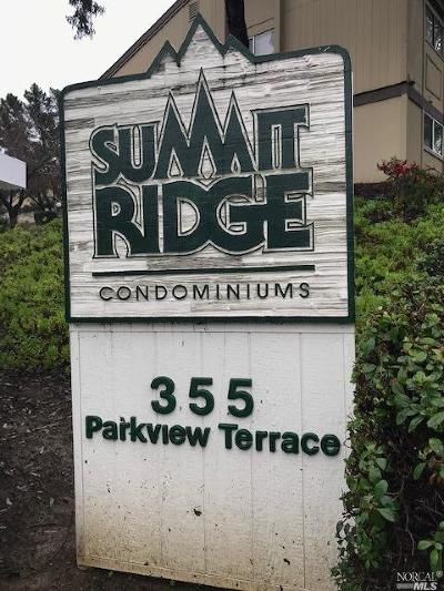 Vallejo Condo/Townhouse For Sale: 355 Parkview Terrace #C-2