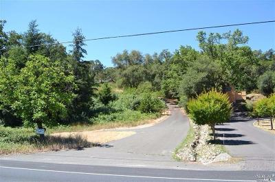 Calistoga Residential Lots & Land For Sale: 3025 Foothill Boulevard