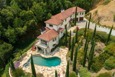 San Rafael Single Family Home For Sale: 75 Oak View Drive