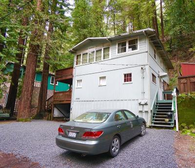 Guerneville CA Multi Family 2-4 For Sale: $412,500
