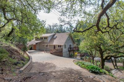 Healdsburg Single Family Home For Sale: 2551 Mill Creek Road