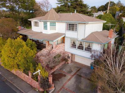 Vallejo Single Family Home For Sale: 1556 Tuolumne Street