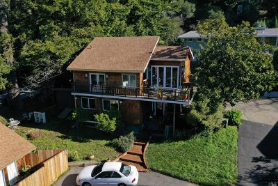 Mill Valley Single Family Home For Auction: 6 Heavenly Way