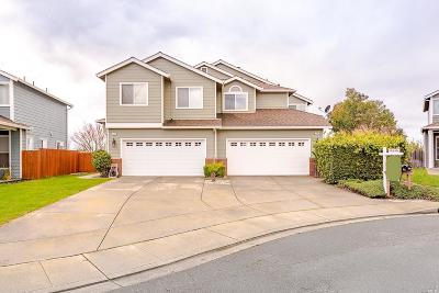Vallejo Single Family Home For Sale: 139 Swanzy Court