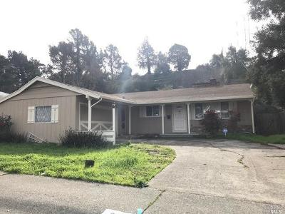 Vallejo Single Family Home For Sale: 301 Cottonwood Drive