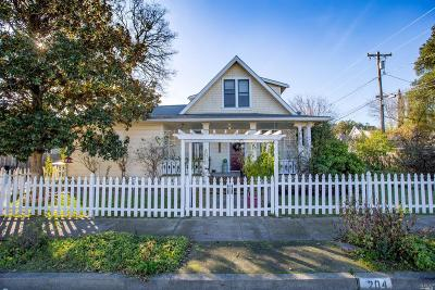 Mendocino County Single Family Home For Sale: 204 South Dora Street