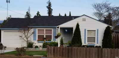Napa Single Family Home For Sale: 3080 Laurel Street