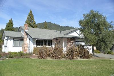 Healdsburg Single Family Home For Sale: 1385 Pinon Drive