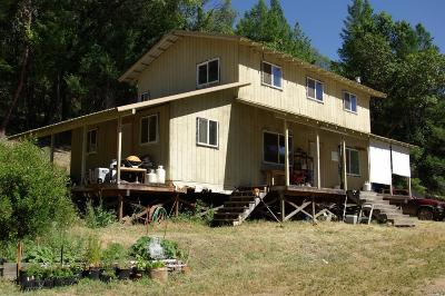 Covelo CA Single Family Home For Sale: $375,000