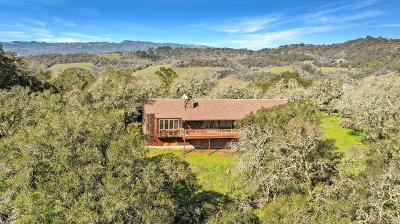 Sonoma Single Family Home For Sale: 1080 Bart Road
