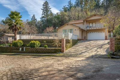 Mendocino County Single Family Home For Sale: 261 Crestview Drive