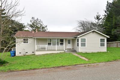 Bodega, Bodega Bay Single Family Home For Sale: 17154 Bodega Lane