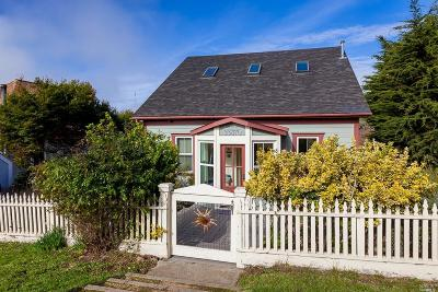 Mendocino County Single Family Home For Sale: 33870 Albion Street