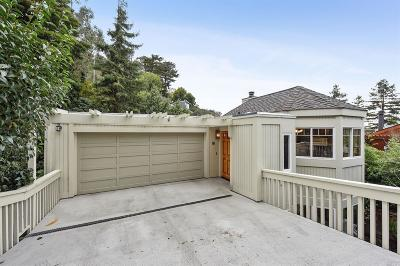 Sausalito CA Single Family Home Contingent-Show: $1,695,000