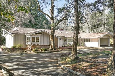 Napa County Single Family Home For Sale: 650 Deer Park Road