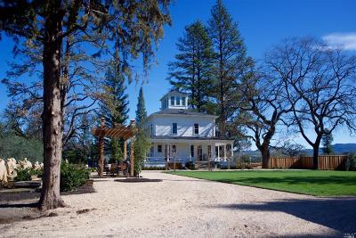 St. Helena Rental For Rent: 1575 St. Helena Highway