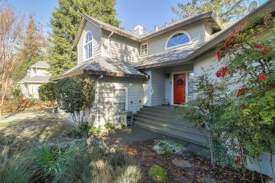 Santa Rosa Single Family Home Contingent-Show: 1846 Happy Valley Road