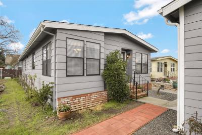 Sonoma County, Mendocino County, Marin County, Napa County, Lake County Mobile Home For Sale: 1945 Piner Road #100, 100