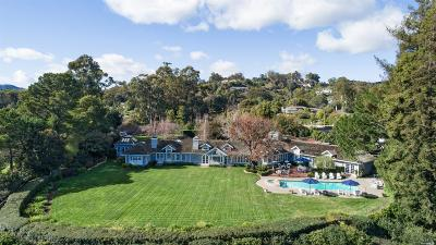 Marin County Single Family Home For Sale: 20 Montecito Road