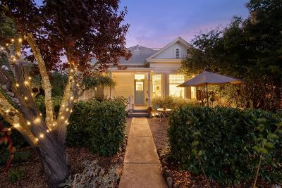 Sonoma Single Family Home For Sale: 171 West Spain Street