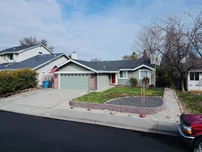 Vacaville CA Single Family Home For Sale: $449,000
