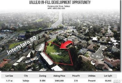 Vallejo Residential Lots & Land For Sale: Fairgrounds Drive