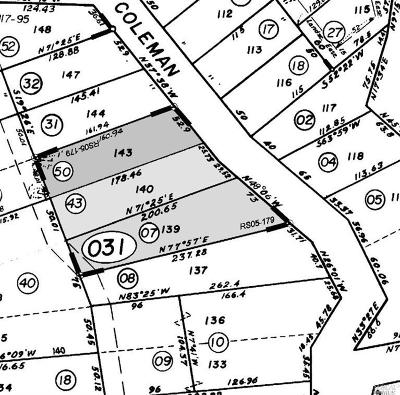 Marin County Residential Lots & Land For Sale: Coleman Drive