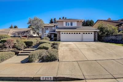 Vacaville CA Single Family Home For Sale: $596,000