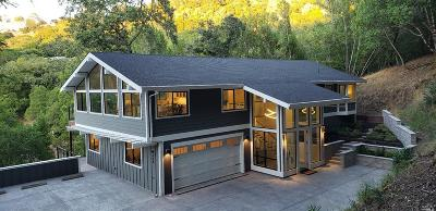 San Anselmo Single Family Home For Sale: 230 Oakcrest Road