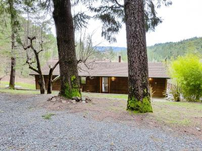Willits Single Family Home For Sale: 24736 Sherwood Road