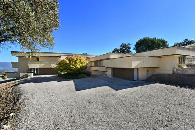 Ukiah Single Family Home For Sale: 4830 Orr Springs Road
